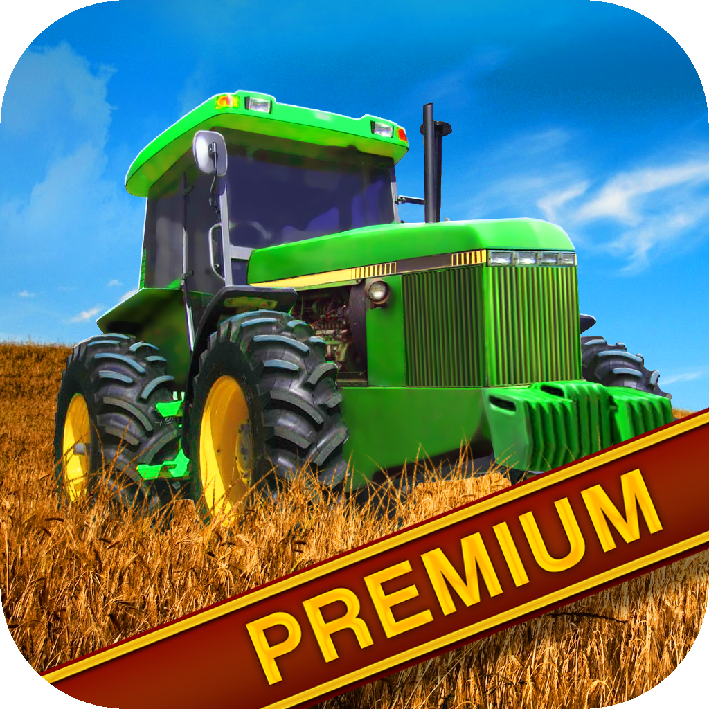 Best Farm Tractor Driving Fun Premium - 3D Endless Vehicle Driver Game